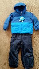 NWT Columbia Boys Reversible 2 pc. Snowsuit Set Blue Sz: 12-18 Mth RP: $130