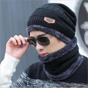 b08819ad54b New Winter Hat Caps Bonnet For Men Women Beanie Fur Warm Baggy ...