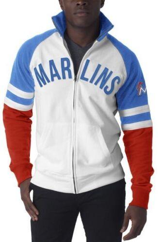 New Mens Jacket Official MLB 47 Label Florida Marlins Dugout Baseball Small-XL