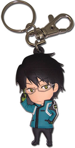 World Trigger Osamu SD PVC Key Chain Anime Manga NEW