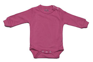 BABY-BODYSUIT-FULL-SLEEVE-SHOULDER-POPPERS-100-COT-CARMINE-ROSE