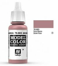 Vallejo Model Color Paint 17ml Brown Rose 70803 M038