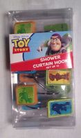 Disney Pixar Toy Story Shower Curtain Hooks. Set Of 12 With Buzz And Woody