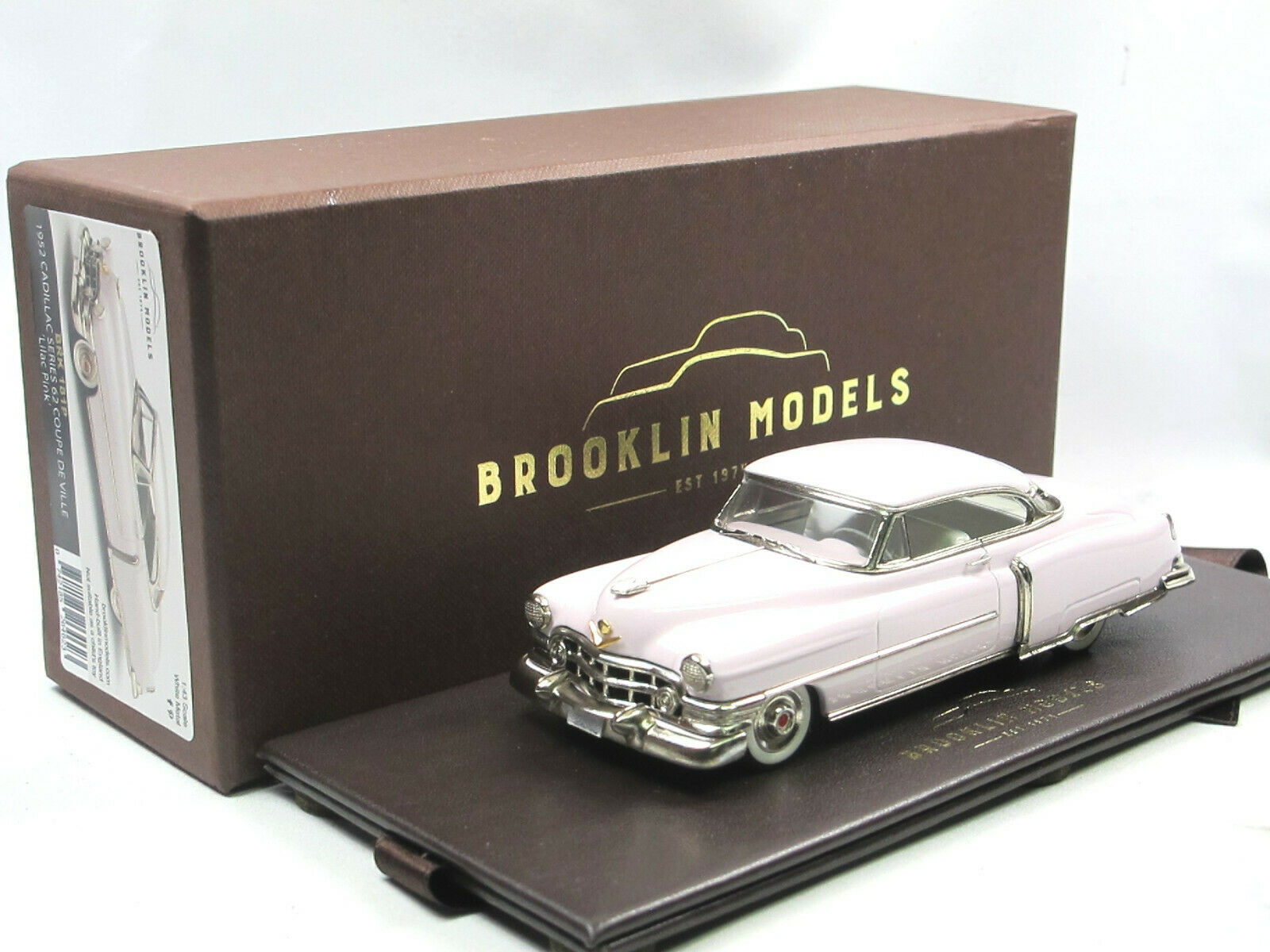 Brooklin BRK 181P 181P 1952 Cadillac Series 62 Coupe de Ville Pink Collection 1 43