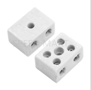 2W5H haute température porcelaine Terminal Block 10 A 500 V 22*20*14mm