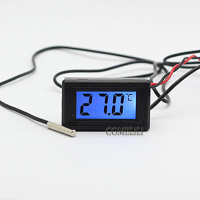 Digital Thermometer Temperature Meter Gauge C/F PC MOD Celsius/Fahrenheit WH5001