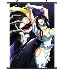 Albedo Overlord HD Print Anime Wall Poster Scroll Room Decor