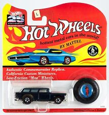 Hot Wheels 25th Anniversary Classic Nomad Dark Blue Series L MOC 1993