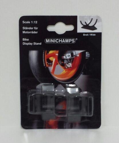 MINICHAMPS 1//12 SET DUE CAVALLETTI PLASTICA PER MOTO MODELLINO MOTOGP SBK 500cc