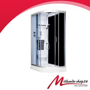 duschtempel fertigdusche duschkabine echt glas komplett dusche wanne 120 x 81 ebay. Black Bedroom Furniture Sets. Home Design Ideas