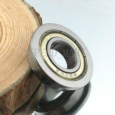10 x F6900zz Metal Double Shielded  Flanged  Ball Bearings 10mm*22mm*6mm
