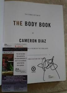 CAMERON-DIAZ-THE-BODY-WORK-SIGNED-AUTOGRAPHED-FIRST-EDTITION-BOOK-JSA-K59371
