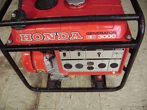 honda eb 3000 generator with the original manual ebay rh ebay com Honda EB3000 Cycloconverter Older Honda EB3000 Generator Parts