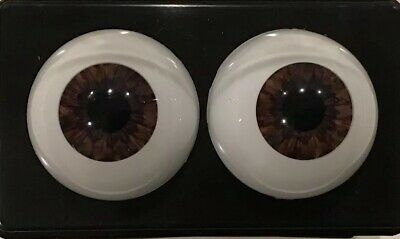 "18mm Dark Violet Round ""Real Eyes"" Made In USA"