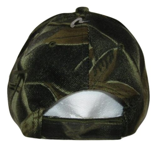 Born to Fish Forced to Work Fishing Black Face Camouflage Embroidered Cap Hat