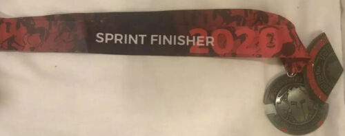 2020 Spartan Race Super Medal with Wedge Sprint Finisher