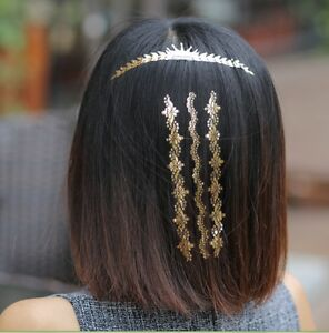 Haarschmuck-Haar-Tattoos-Goldtattoos-Haarteil-GOLD-ACCESSOIRES-Hochzeit-Diadem