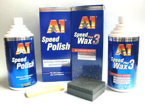 a1 speed polish wax plus 3 a 500ml politur polisch. Black Bedroom Furniture Sets. Home Design Ideas