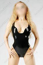 013 Latex Rubber Gummi Leotard Swimsuit baywatch customized sexy catsuit 0.4mm