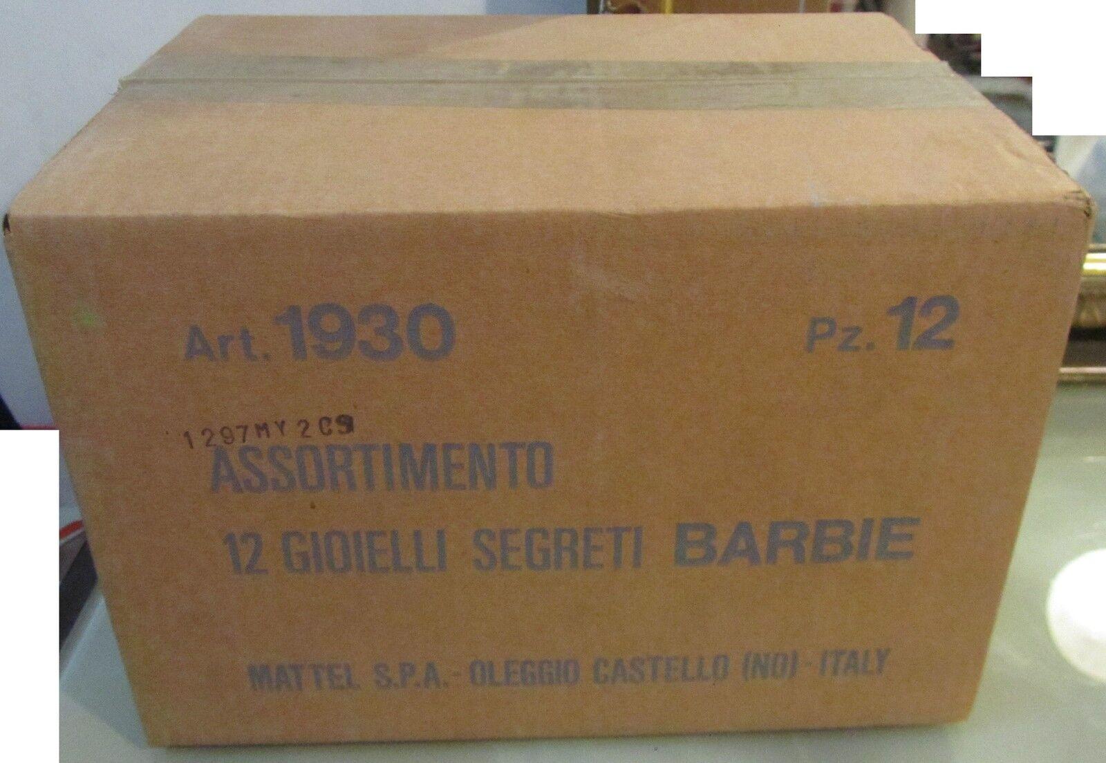 Barbie confezione originale 12 Gioielli Segreti Mattel 1930 Fondo Di Di Di Magazzino 781b86