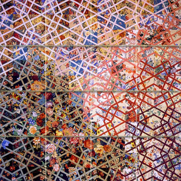 Art Couleuré murale céramique bain dosseret DECOR voitureRELAGE  870
