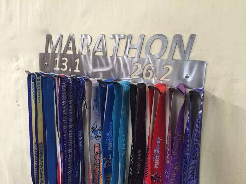 "Hanger 18/"" Running Medal Display Marathon 13.1-26.2 Holder"