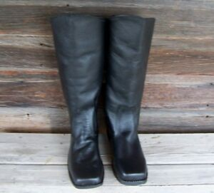 Details about Civil War Reproduction Cavalry Officer Boots Size 9