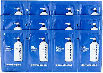 paquete Of 12 Precintado Industrious Dermalogica Cuerpo Hidratante Crema Tamaño De Muestra