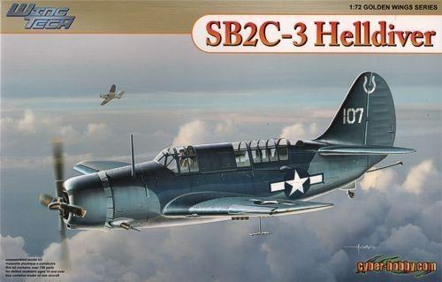Cyber-Hobby 1 72 Curtiss SB2C-3 Helldiver Plastic Model Kit
