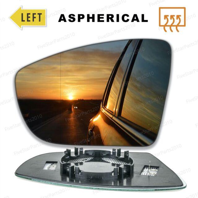 For Volvo S40 2009-2012 Left Passenger side Aspheric wing door mirror glass