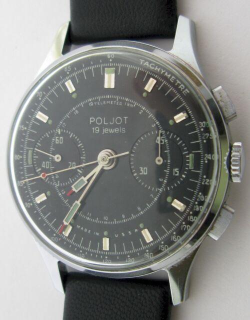 Poljot 3017 (Strela Sekonda) Vintage Chronograph Watch