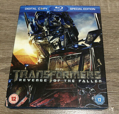 Transformers Revenge Of The Fallen 2009 Blu Ray Dvd With Slip Cover Ebay