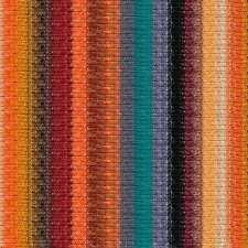 Noro ::Silk Garden Sock #S421:: silk mohair yarn Oranges-Teal-Maroon-Black-Wine
