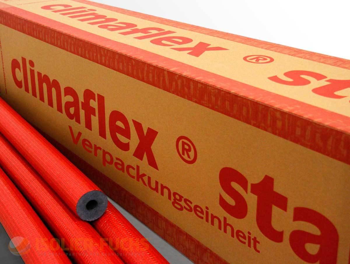Rohrisolierung 2m PE Isolierschlauch NMC Climaflex Climaflex Climaflex Stabil 9mm Dämmstärke VPE d99e25