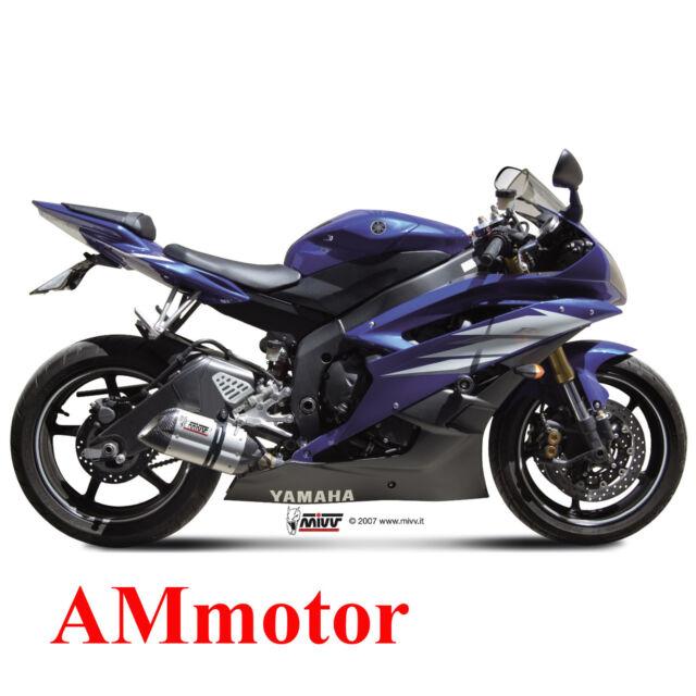 Mivv Yamaha Yzf 600 R6 2010 10 Escape Moto Silenciador Suono