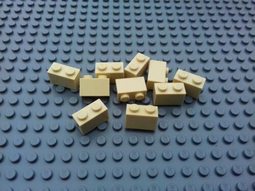 NEW LEGO STAR WARS TOWN CITY FARM FRIENDS TRAIN 50 x TAN 1x2 BRICKS 3004