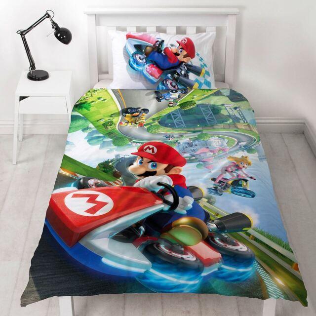 Offizielles Nintendo Super Mario Schwerkraft Einzel Bettwäsche