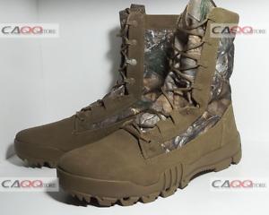 NEW 2016 NIKE SFB 8  JUNGLE REALTREE Size 10.5 MENS CAMO COYOTE BOOTS 845168-990