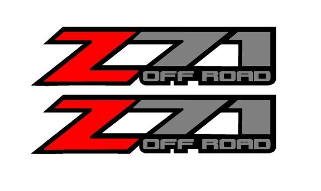 chevrolet chevy truck z71 off road 4x4 truck decal vinyl sticker ebay rh ebay com z71 logo vector z71 logo floor mats