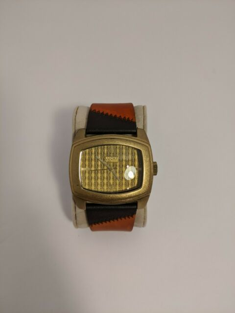 Vintage Lucky Brand Women's Peace Sign Watch Genuine ... |Lucky Brand Peace Watch