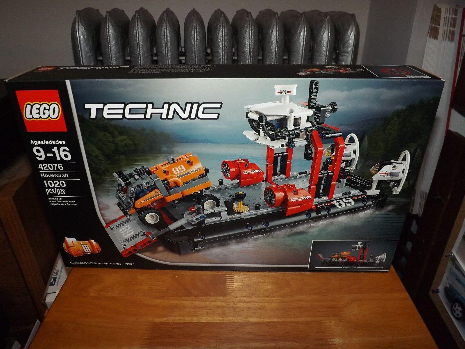 LEGO, TECHNIC, aéroglisseur, Kit  42076, 1020 pièces, nouveau dans la boîte, 2018