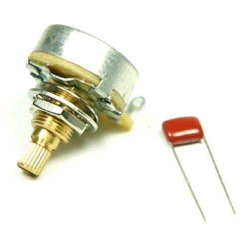 Genuine Fender/® Split shaft guitar potentiometer pot 250K log//audio 09908300