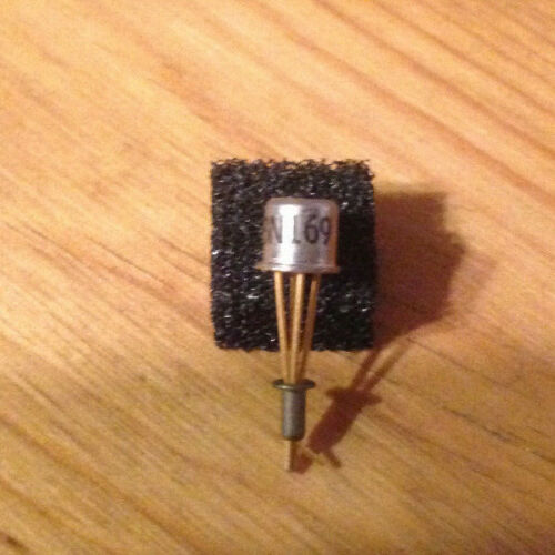 3N169 N-Channel Mosfet transistor with gold plated leads Motorola