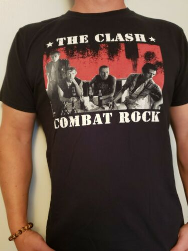 The Clash Graphic Band T Mens Large Black Shirt - image 1