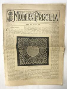 "The Modern Priscilla Magazine ""Christmas Is Coming"" Boston, Mass. December 1899"