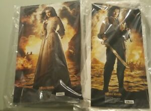 Pirates Of The Caribbean Elizabeth And Will Cardboard Cutout desktop Standees