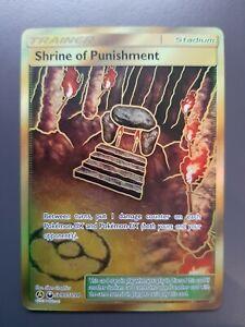 Shrine Of Punishment Pokémon Gold Full Art Rare