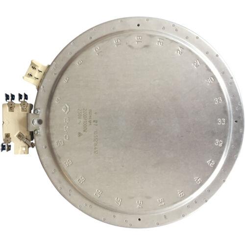 Réchaud plaque cuisson Ceranfeld 2000 1000 W EGO 1051216412 Comme Miele 4342391