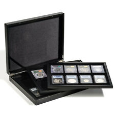 Coin Case 6 Graded NGC PCGS Trays Certified Coin Slabs Storage Organizer Box