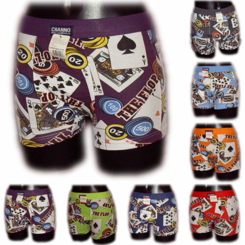 Boxer Homme Poker #2 M L XL XXL XXXL boxershorts coton